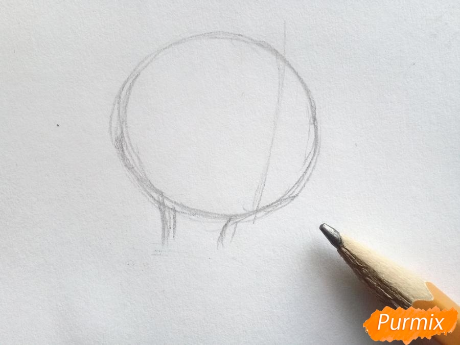 Рисуем Кая из сказки Снежная королева - фото 1