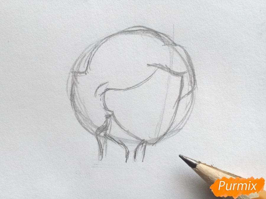 Рисуем Кая из сказки Снежная королева - фото 2