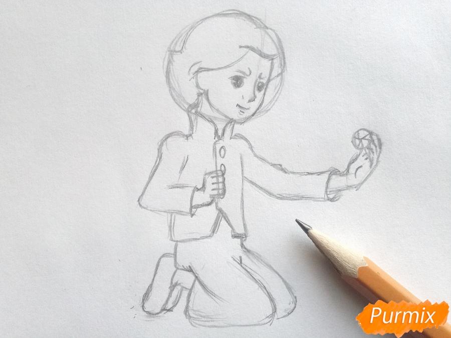 Рисуем Кая из сказки Снежная королева - фото 4
