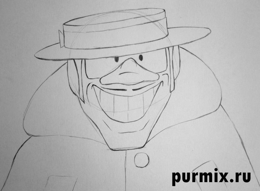 Рисуем Гениального сыщика из Бременских музыкантов