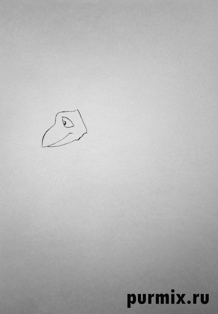Рисуем Говоруна из Тайна Третьей планеты