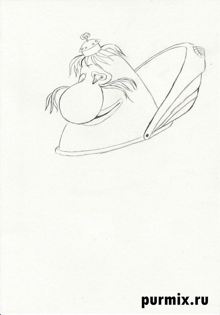 Рисуем Громозеку из Тайна третьей планеты