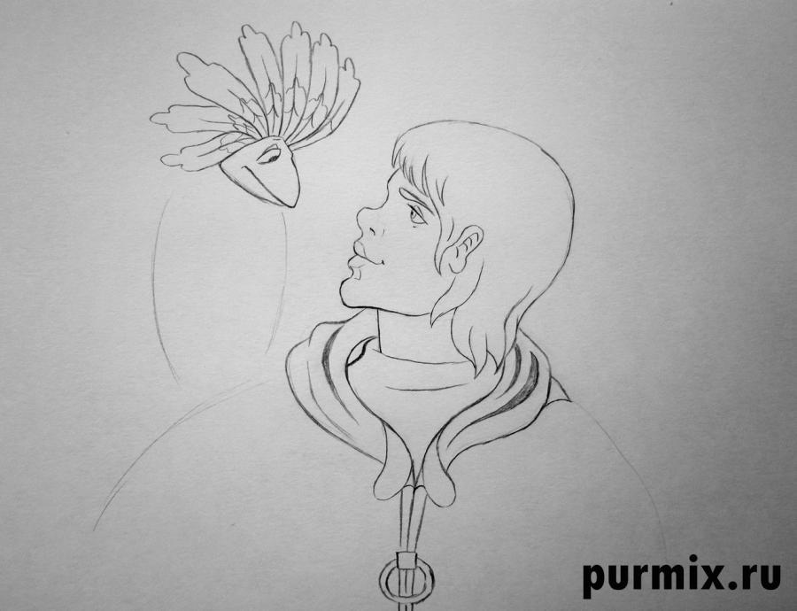 Рисуем капитана Бурана и Говоруна из Тайна третьей планеты