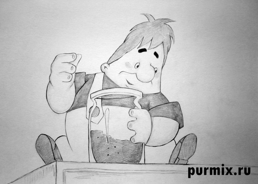 Рисуем Карлсона простым