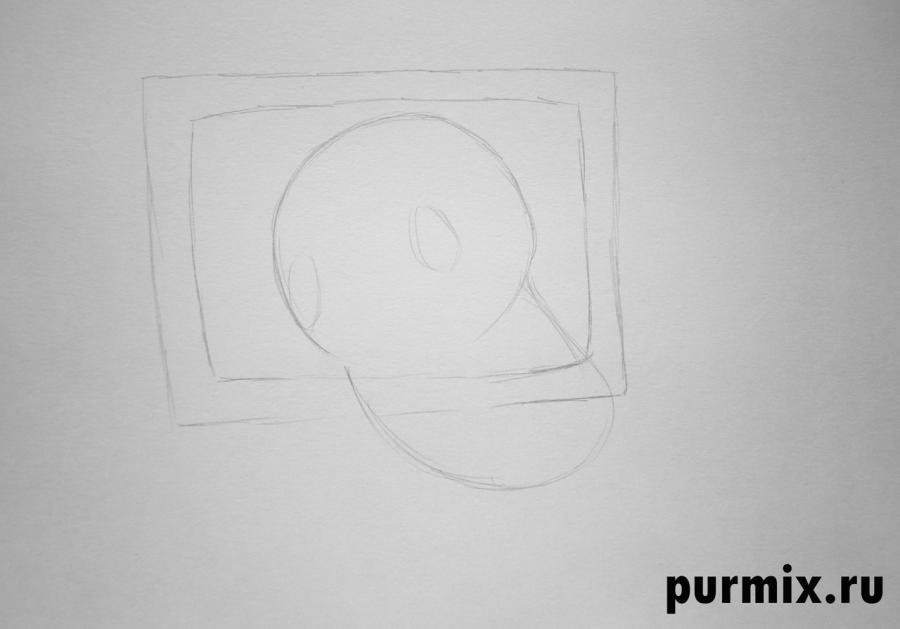 Рисуем Кешу из Возвращение блудного попугая