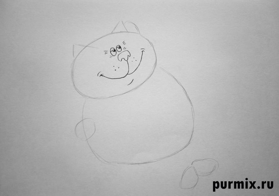 Рисуем кота из Возвращение блудного попугая