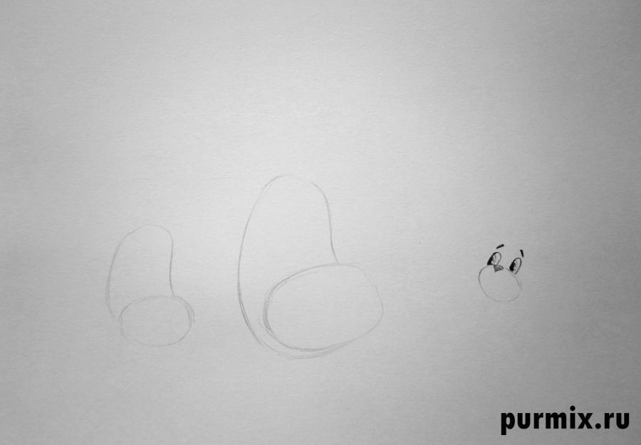 Рисуем Матроскина, Мурку и Гаврюшу из Трое из Простоквашино - фото 1