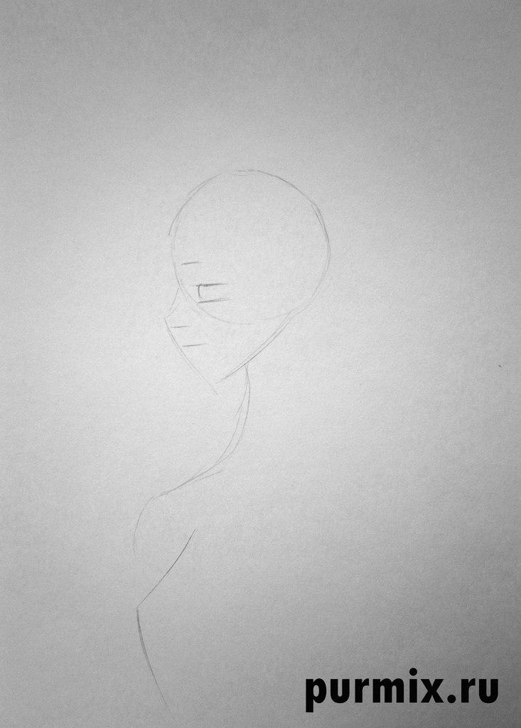 Рисуем принцессу из мультфильма Бременские музыканты