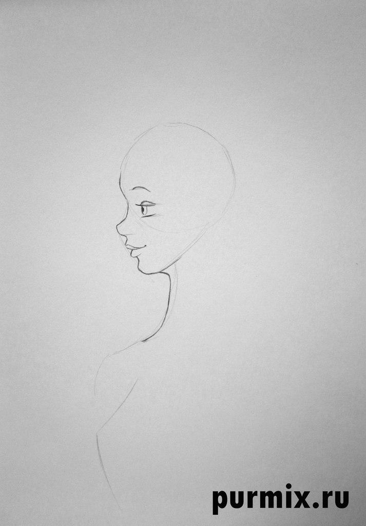 Как нарисовать принцессу из мультфильма Бременские музыканты