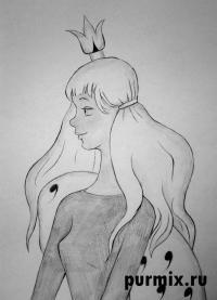принцессу из мультфильма Бременские музыканты
