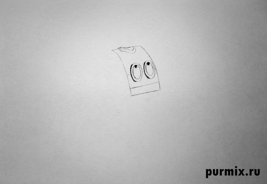 Рисуем робота планеты Шелезяка из Тайна третьей планеты