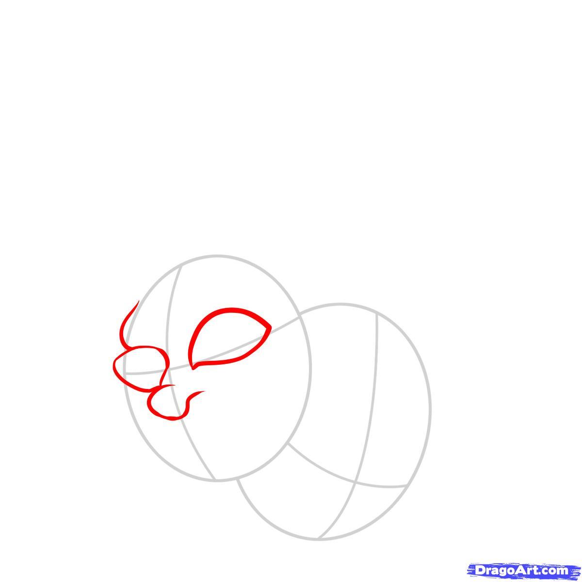 Рисуем две усохшие головы