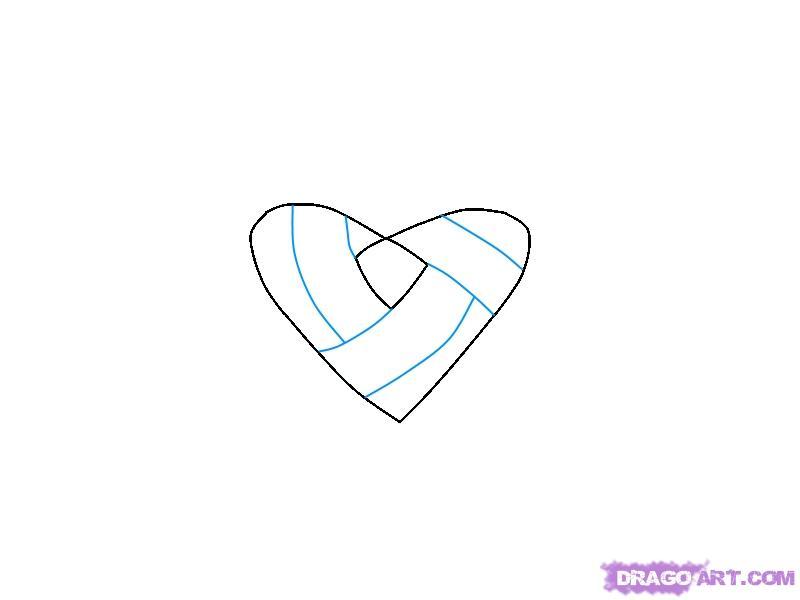 Рисуем Кельтский узел Сердце