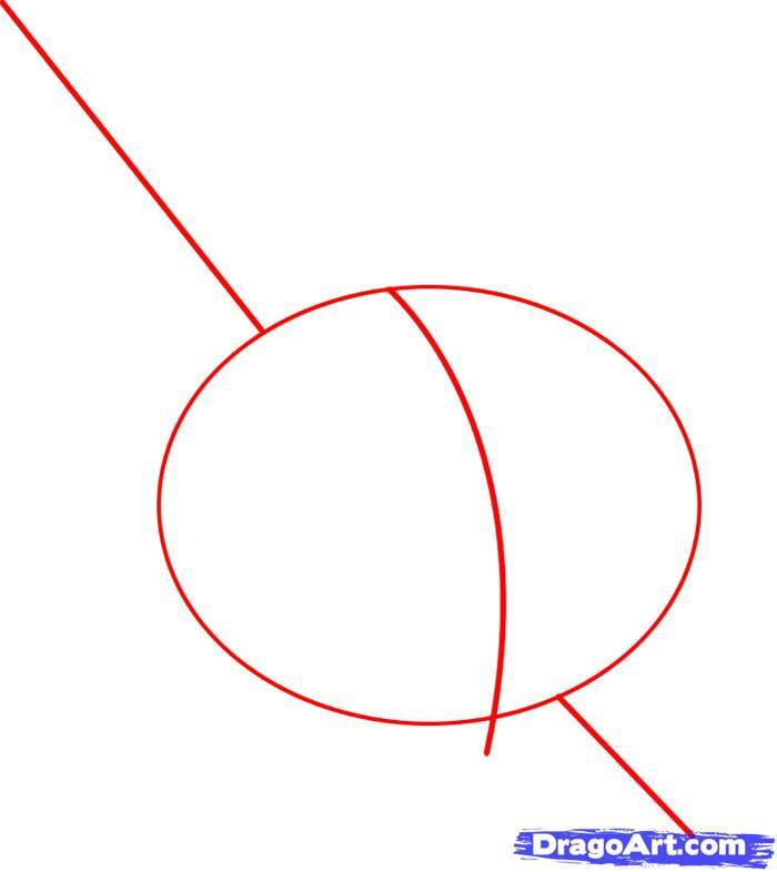 Как нарисовать сердце проткнутое мечом карандашом поэтапно