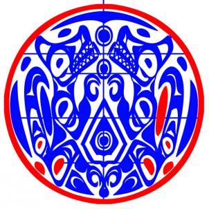 Рисуем тату племени Квилеттов