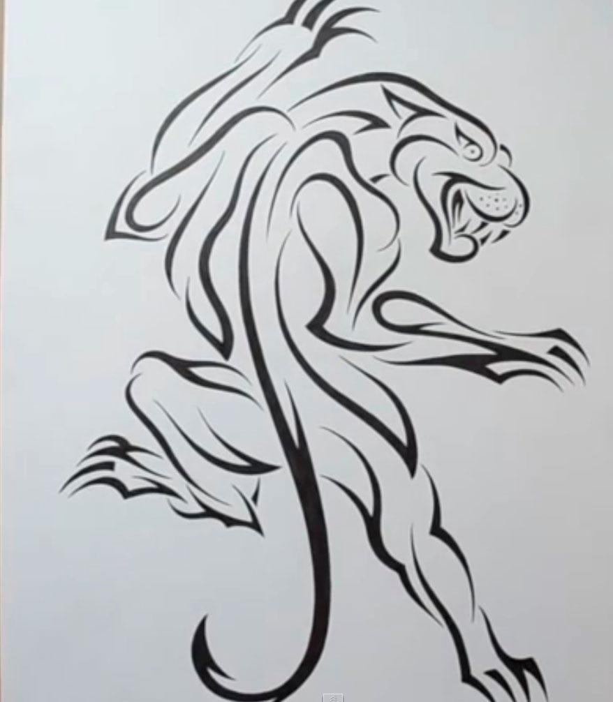 картинки татуировки на бумаге