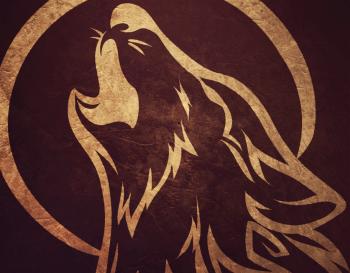 Рисуем вой волка