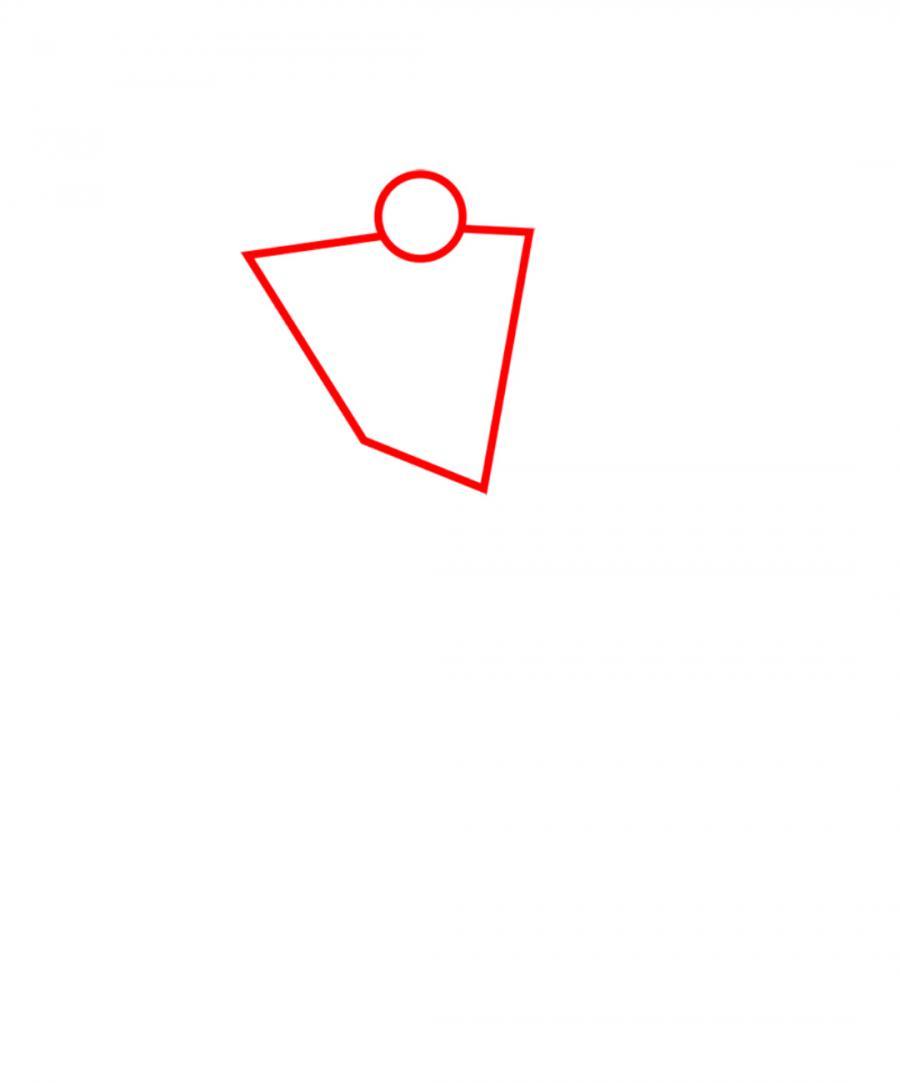 Рисуем Мегатрона   Для начинающих - шаг 1