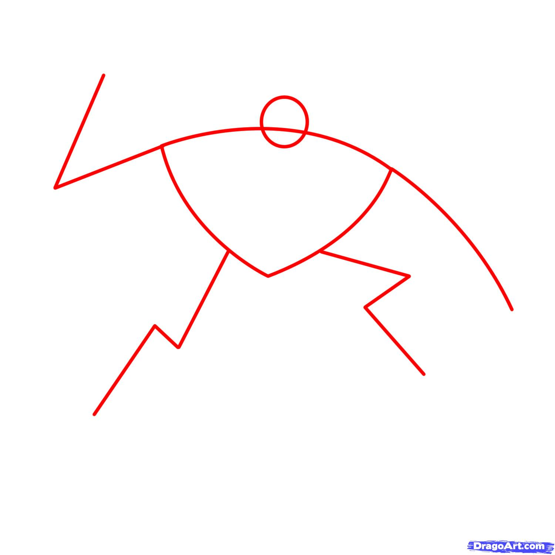 Рисуем трансформера Старскрима - шаг 1