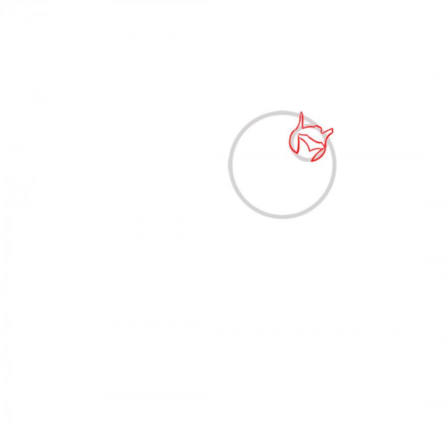 Рисуем трансформера Джаза простым - шаг 2