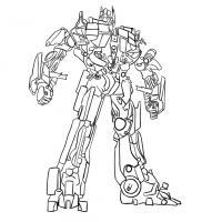 Как нарисовать трансформера Оптимуса Прайма карандашом