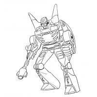 Как нарисовать трансформера Родимуса Прайма карандашом поэтапно