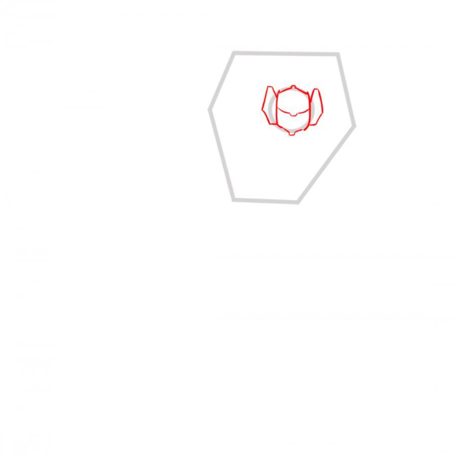 Рисуем трансформера Санстрикера