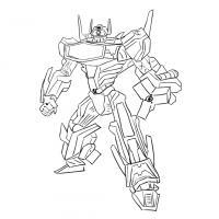 Как нарисовать трансформера Шоквейва карандашом поэтапно