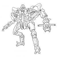 Как нарисовать трансформера Старскрима карандашом поэтапно