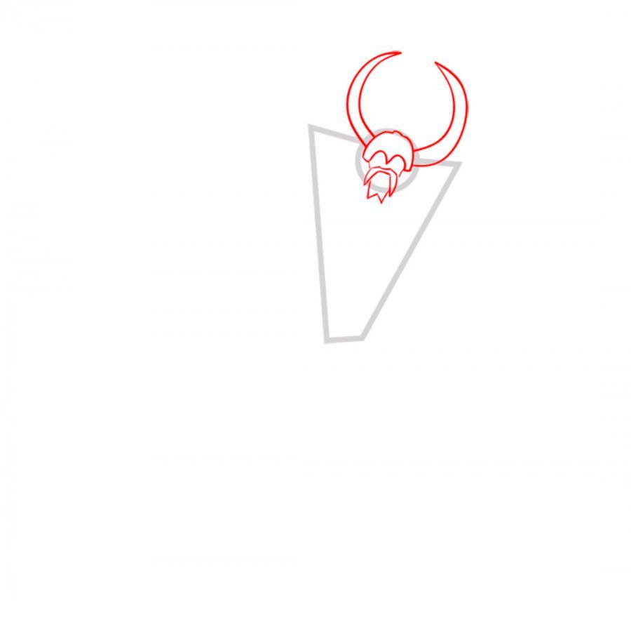 Рисуем трансформера Юникрона