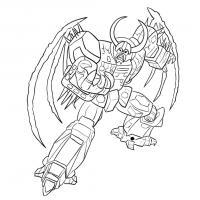 Как нарисовать трансформера Юникрона карандашом поэтапно
