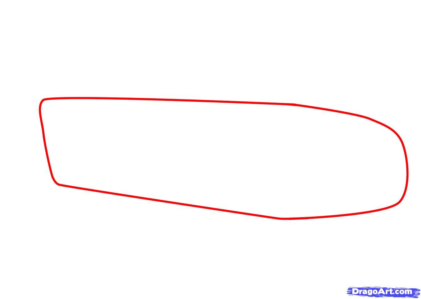 Рисуем машину Aston Martin карандашами - фото 1