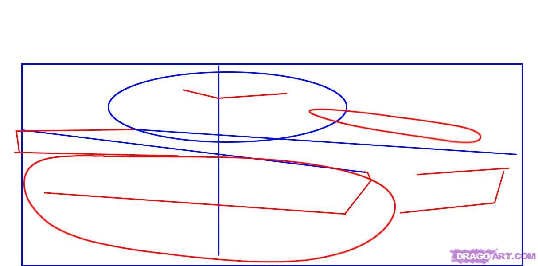 Как нарисовать трех пингвинов поэтапно