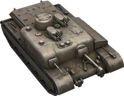 Рисуем британскую ПТ-САУ АТ-8 простым