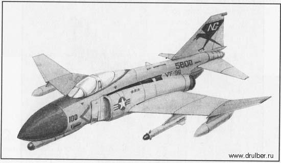 Рисуем истребитель F-4