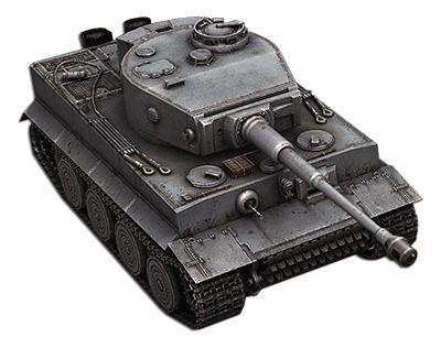 Рисуем немецкий тяжелый танк Тигр простым