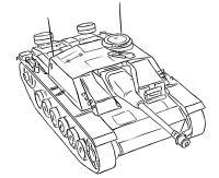 Фото немецкую самоходно-артиллерийскую установку StuG III