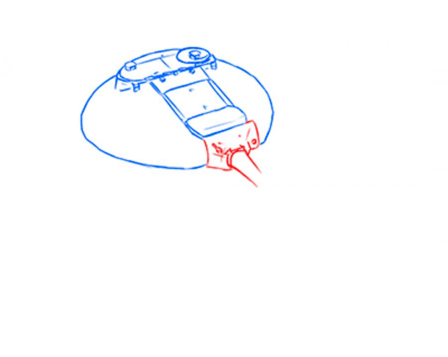 Как рисовать поэтапно гнездо 47