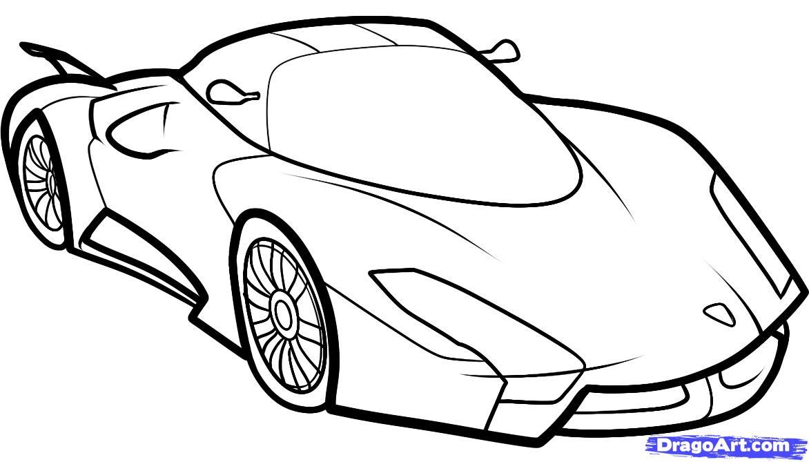Как нарисовать самый быстрый автомобиль (SSC UltimateAero II) поэтапно