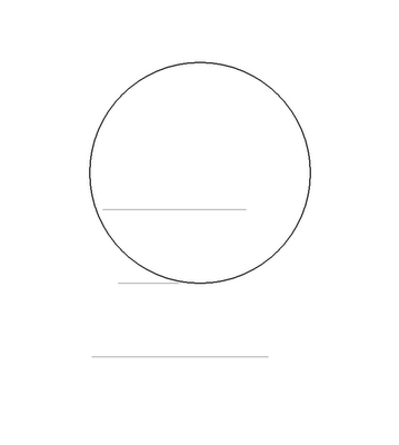 Рисуем лицо Блум в полоборота - шаг 2
