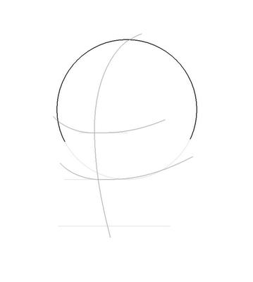 Рисуем лицо Блум в полоборота - шаг 4