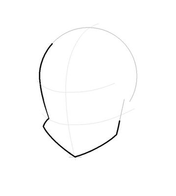 Рисуем лицо  Блум в полоборота