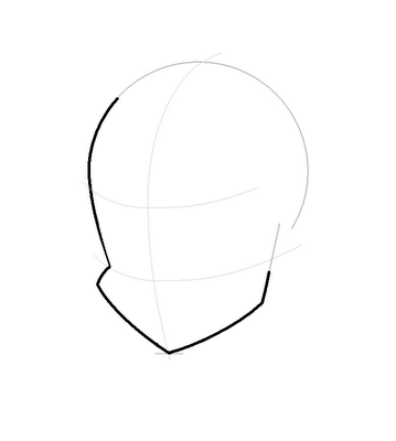 Рисуем лицо Блум в полоборота - шаг 6