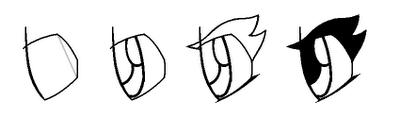 Рисуем лицо Блум в профиль - шаг 14