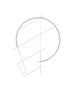 Рисуем лицо Блум в профиль - шаг 9