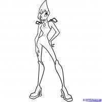 Фото Текну из мультфильма Winx