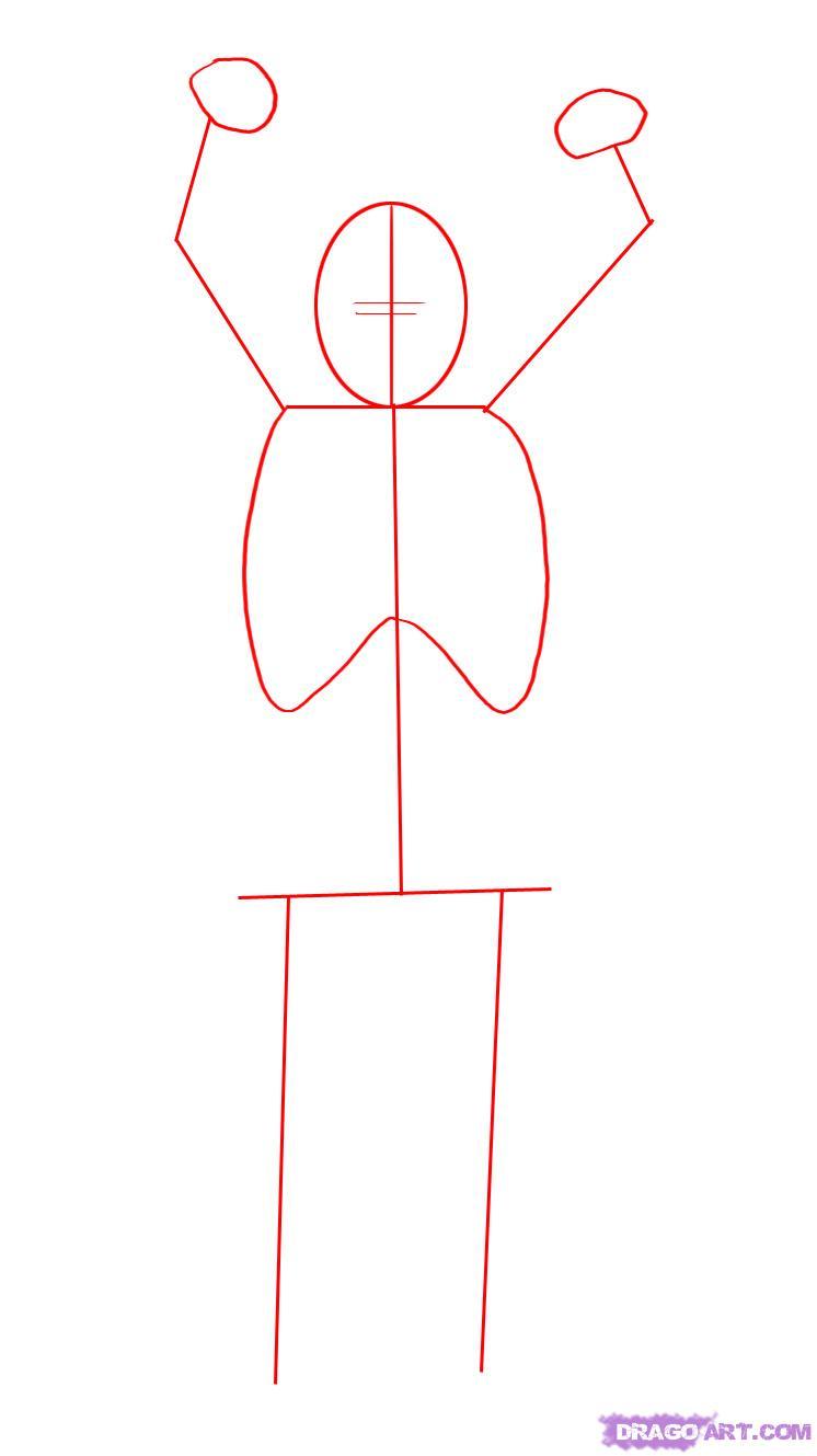 Как нарисовать Чубаку карандашом поэтапно