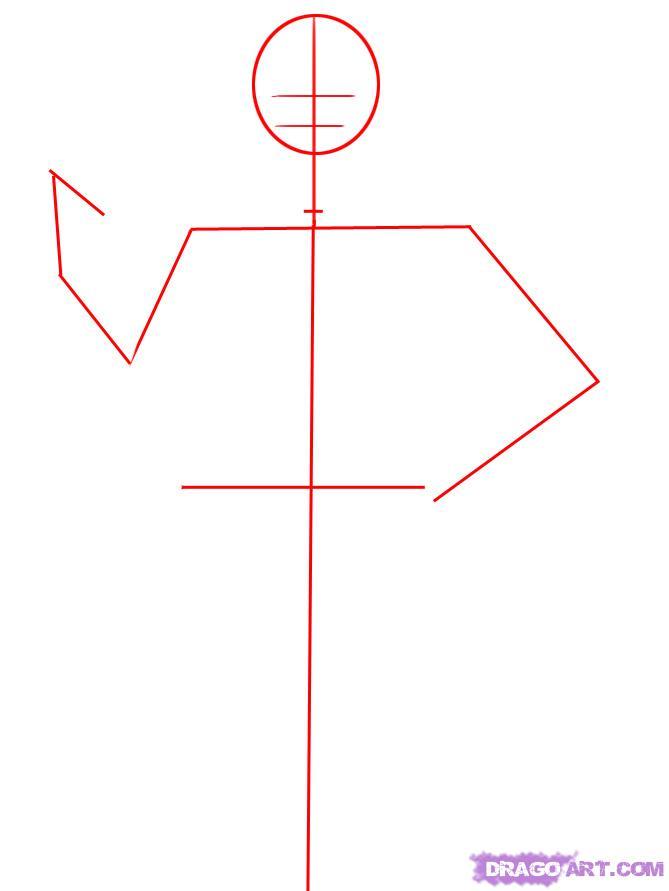 Рисуем Дарта Вейдера - шаг 1