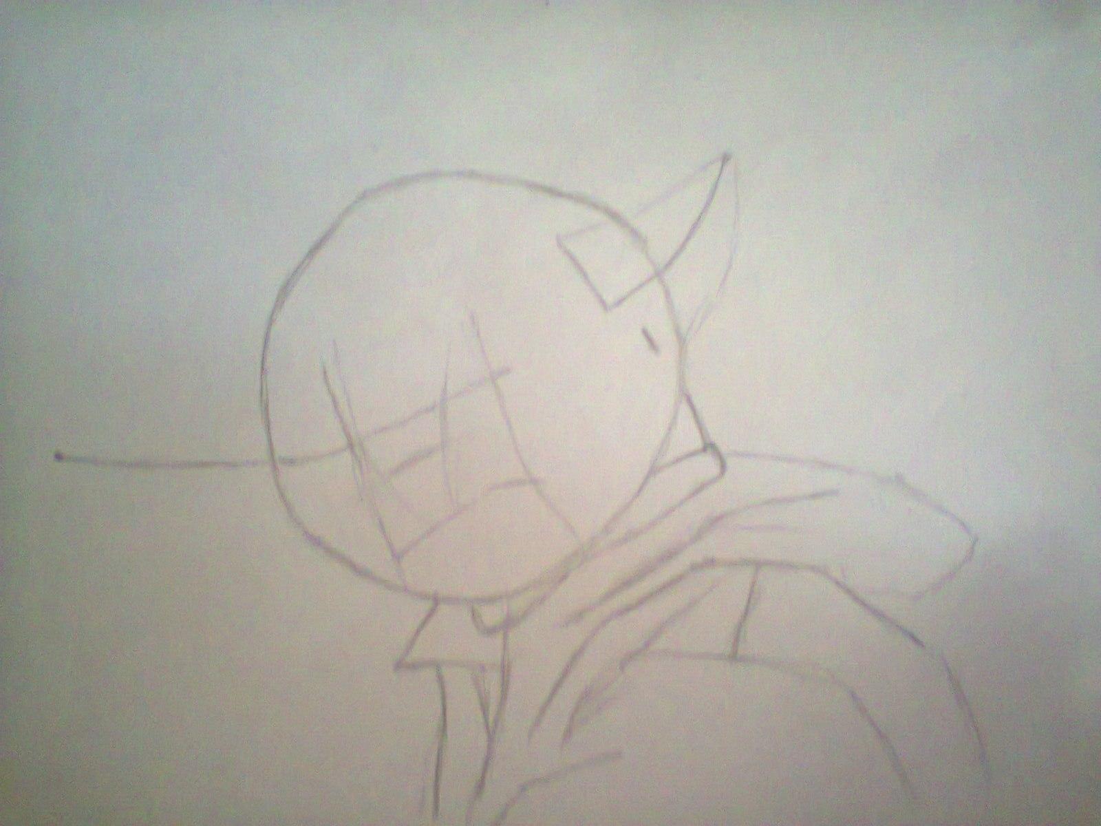 Рисуем магистра йоду на бумаге