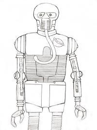 Рисунок 2-1Б Медицинский дроид